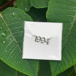 "NEW!! 💚 Birth Year Necklace ""1994"""